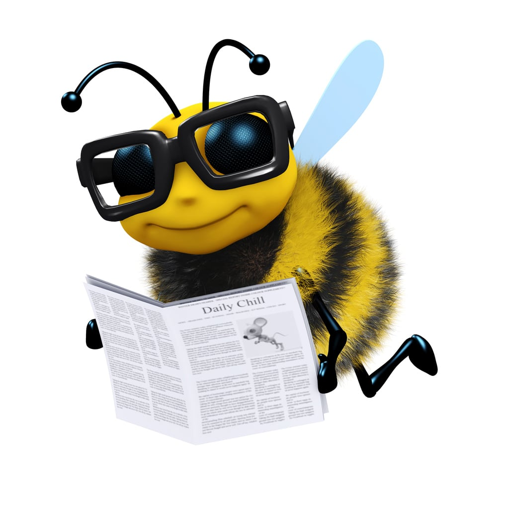 honey bee reading bee blog